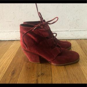 Rachel Comey lace up boots